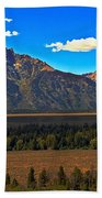 Tetons Mountians Beach Towel
