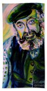 Tevye Fiddler On The Roof Beach Towel