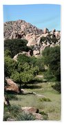 Texas Canyon Landscape Beach Towel