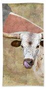Texas Longhorn # 2 Beach Towel