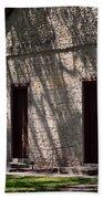 Texas Pioneer Church Doors Beach Towel