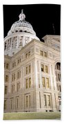 Texas State Capitol Beach Towel