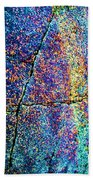 Texture And Color Abstract Beach Towel