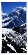 The Annapurna Circuit - The Himalayas Beach Towel