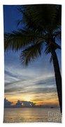 Thailand Sunset Sunrise Beach Towel