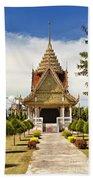 Thailand Temple Beach Towel