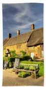 Thatched Cottages At Great Tew  Beach Towel