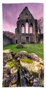 The Abbey  Beach Towel by Adrian Evans
