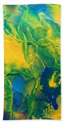 The Abstract Earth Beach Towel