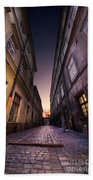 The Alley Of Cracov Beach Towel