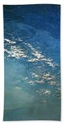The Alps From Space Beach Towel by Anonymous