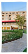 The Americana At Brand Outdoor Shopping Mall In California. Beach Towel