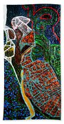 The Annunciation Beach Towel by Gloria Ssali