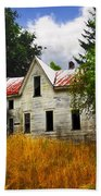The Apple Tree On The Hill Beach Towel