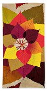 The Artistry Of Fall Beach Towel