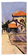 The Artists House At Yerres Beach Towel