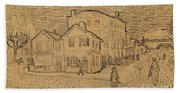 The Artists House In Arles Beach Towel