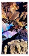 The Artists Palette Death Valley Beach Towel