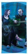 The Artists Beach Towel