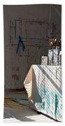 The Artists Studio Beach Towel