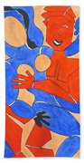 The Attraction One Beach Towel