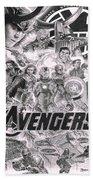 The Avengers Beach Towel