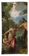 The Baptism Of Christ Beach Towel