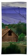 The Barn Beach Towel by Robert Bales