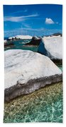 The Baths Beach Towel