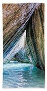 The Baths Virgin Gorda British Virgin Islands Beach Towel