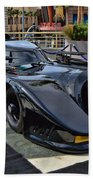 The Batmobile Beach Towel
