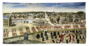 The Battle Of Concord, 1775 Beach Towel