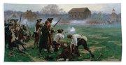 The Battle Of Lexington, 19th April 1775 Beach Towel