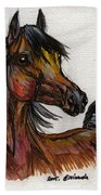 The Bay Horse 1 Beach Towel