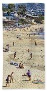 The Beach At Laguna Beach Towel