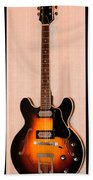 The Beach Boys Brian Wilson's Guitar Beach Towel