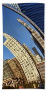 The Bean - 1 - Cloud Gate - Chicago Beach Towel
