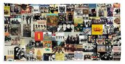 The Beatles Collage Beach Sheet