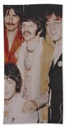 The Beatles In Color Beach Sheet