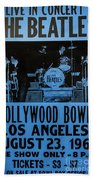 The Beatles Live At The Hollywood Bowl Beach Towel