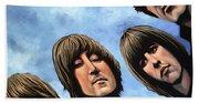 The Beatles Rubber Soul Beach Towel