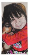 The Best Of Friends Beach Towel