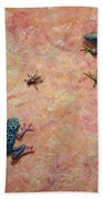The Big Fly Beach Towel by James W Johnson