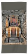 The Biltmore Estate Wine Barrels Beach Towel