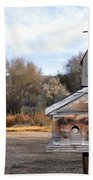The Birdhouse Kingdom - American Kestrel Beach Towel