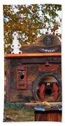The Birdhouse Kingdom - Red-naped Sapsucker Beach Towel