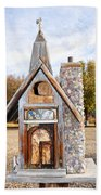 The Birdhouse Kingdom - The American Coot Beach Towel