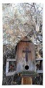 The Birdhouse Kingdom - The Olive-sided Flycatcher Beach Towel
