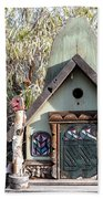 The Birdhouse Kingdom - The Western Tanager Beach Towel