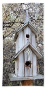 The Birdhouse Kingdom - The Western Wood-pewkk Beach Towel